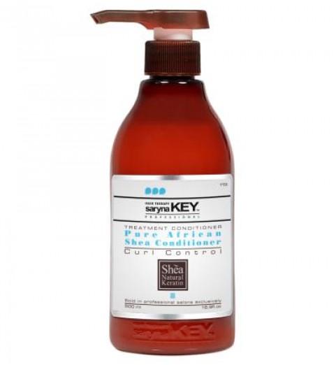Saryna Key (Сарина Кей) Curl Control Pure African Shea Butter Treatment Conditioner / Восстанавливающий кондиционер с Африканским маслом Ши для вьющихся волос, 500 мл