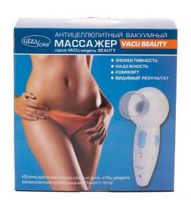 Gezatone VACU Beauty / Вакуумный массажер для тела и бюста