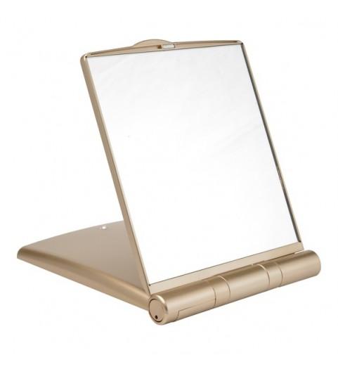 Gezatone LM1417 Зеркало-планшет косметологическое 1/3х с подсветкой, золотое