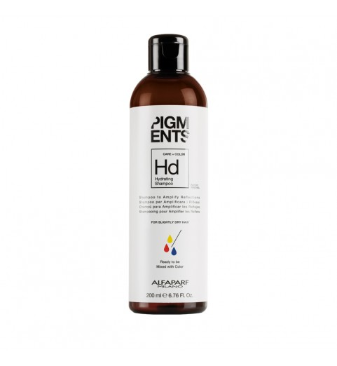 Alfaparf Milano Pigments Hydrating Shampoo / Шампунь увлажняющий для слегка сухих волос, 200 мл