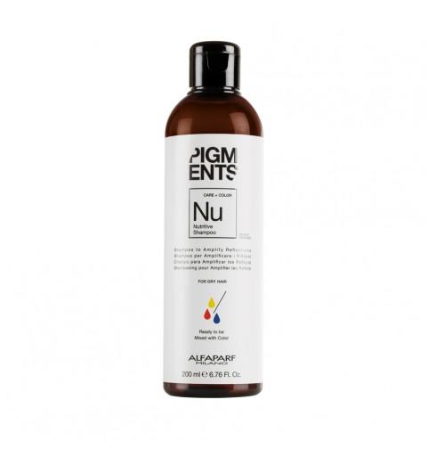 Alfaparf Milano Pigments Nutritive Shampoo / Шампунь питающий для сухих волос, 200 мл