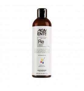 Alfaparf Milano Pigments Reparative Shampoo / Шампунь восстанавливающий для поврежденных волос, 200 мл