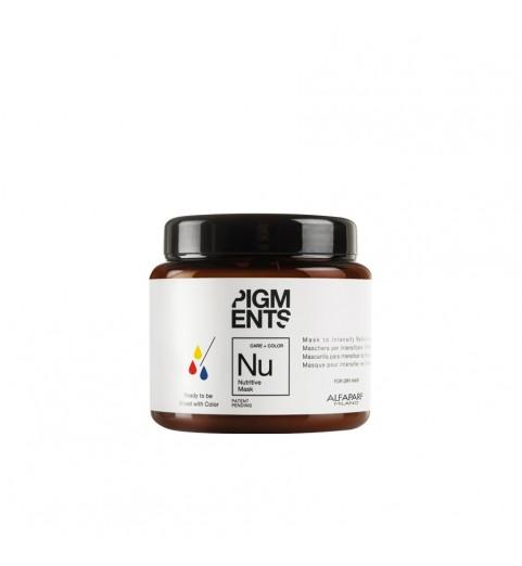 Alfaparf Milano Pigments Nutritive Mask / Маска питающая для сухих волос, 200 мл
