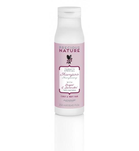 Alfaparf Milano Precious Nature Curly/Wavy Hair Shampoo / Шампунь для кудрявых и вьющихся волос, 250 мл