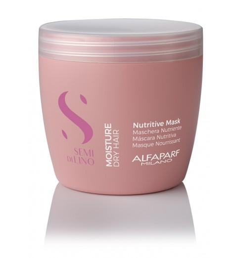 Alfaparf Milano Semi Di Lino Moisture Nutritive Mask / Маска для сухих волос, 500 мл