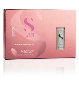 Alfaparf Milano Semi Di Lino Moisture Nutritive Essential Oil / Масло увлажняющее для питания сухих волос, 6*13 мл