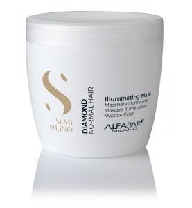 Alfaparf Milano Semi Di Lino Diamond Illuminating Mask / Маска для нормальных волос, придающая блеск, 500 мл