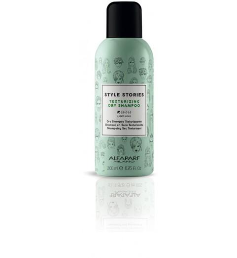 Alfaparf Milano Style Stories Texturizing Dry Shampoo / Текстурирующий сухой шампунь, 200 мл