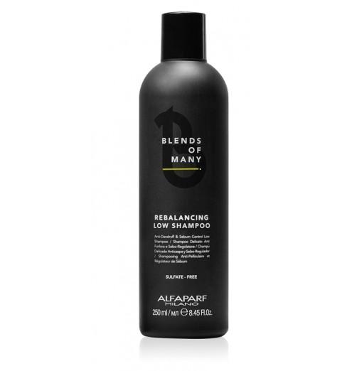 Alfaparf Milano Rebalancing Low Shampoo / Деликатный балансирующий шампунь, 250 мл