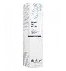 """Algologie (Алголоджи) Освежающий гель-контур для век """"Морской Берег"""", 15 мл"""