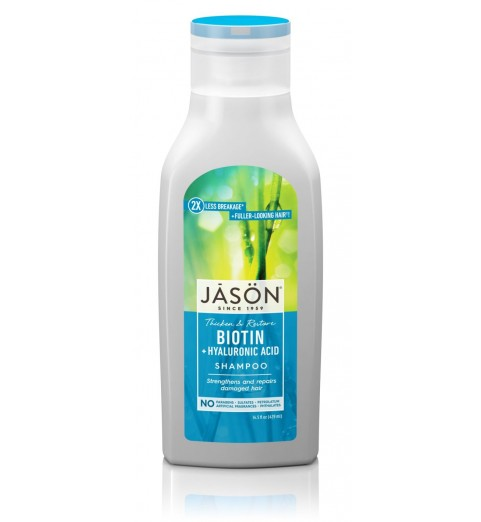 "Jason Biotin Shampoo / Шампунь для волос ""Биотин"", 473 мл"
