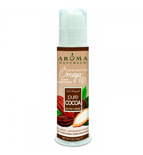 Aroma Naturals Cocoa Super Moisturizing Butter Creme / Супер увлажняющий крем с маслом какао, 142 г
