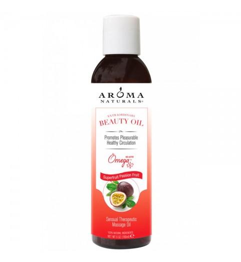 """Aroma Naturals Sensual Therapeutic Massage Oil """"Superfruit Passion Fruit"""" / Специальное масло для тела """"Суперфруктовая страсть"""", 180 мл"""