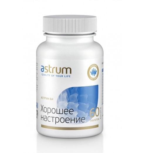 Astrum B / Аструм B Хорошее настроение - дефицит витаминов группы В, 60 таблеток