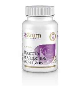 Astrum ЕP / Красота и здоровье женщины - проблемы репродукции, кожные проблемы, 30 капсул