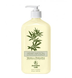 Australian Gold Hemp Nation Vanilla Pineapple / Увлажняющий лосьон, 535 мл