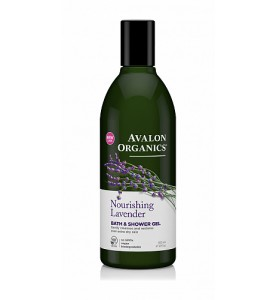 Avalon Organics Lavander Bath & Shower Gel / Гель для душа с маслом лаванды, 355 мл