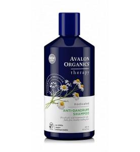 Avalon Organics AntiDandruff Shampoo / Лечебный шампунь против перхоти, 414мл