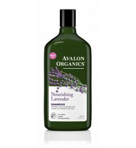 Avalon Organics Lavander Nourishing Shampoo / Шампунь с маслом лаванды, 325 мл