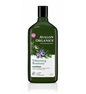Avalon Organics Rosemary Volumizing Shampoo / Шампунь для придания объема волосам с маслом розмарина, 325 мл