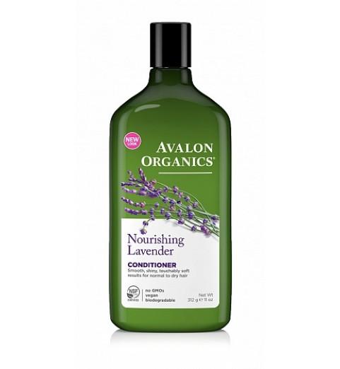 Avalon Organics Lavander Nourishing Conditioner / Кондиционер Кондиционер с маслом лаванды, 312 мл