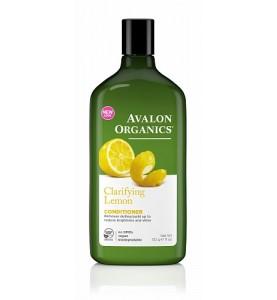 Avalon Organics Lemon Claryfing Conditioner / Кондиционер для увеличения блеска с маслом лимона, 312 мл