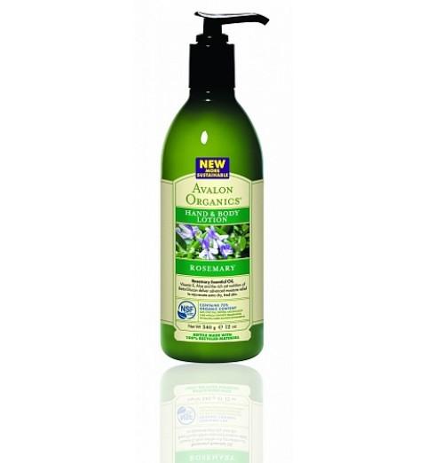 Avalon Organics Rosemary LTN / Лосьон для рук и тела с Розмарином, 360 мл