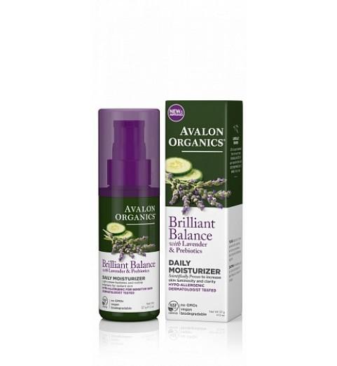 Avalon Organics Daily Moisturizer Cream / Дневной увлажняющий крем с лавандой, 57 г