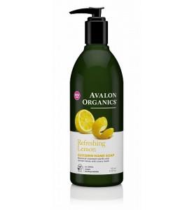 Avalon Organics Lemon Glycerin Hand Soap / Глицириновое мыло для рук с маслом лимоном, 355 мл