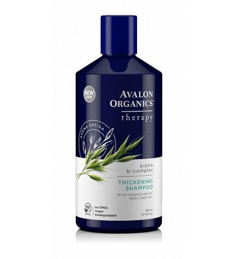 Avalon Organics Biotin B-Complex Thikening Shampoo / Шампунь Биотин комплекс, 414 мл