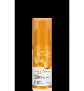 Avalon Organics Intense Defense with Vitamin C Eye Cream / Крем для кожи вокруг глаз с витамином С, 29 г