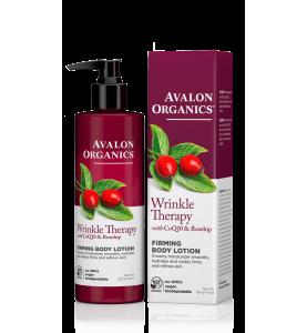 Avalon Organics Wrinkle Terapy with CoQ10 & Rosehip Firming Body Lotion / Укрепляющий лосьон для тела с коэнзимом Q10 и шиповником, 227 г