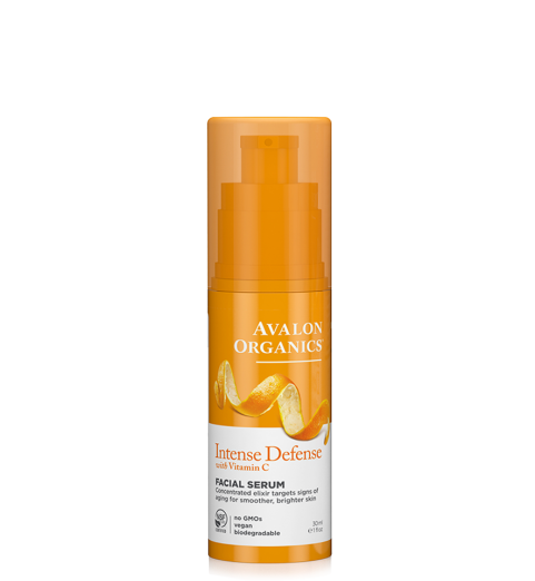 Avalon Organics Intense Defense with Vitamin C Facial Serum / Сыворотка для лица с витамином С, 30 мл