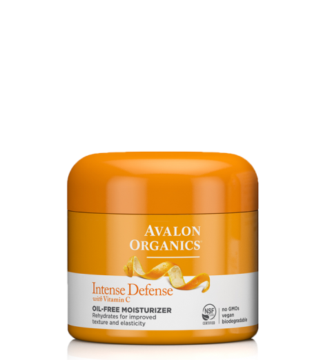 Avalon Organics Intense Defense with Vitamin C Oil-Free Moisturizer / Увлажняющий крем с витамином С, 57 г