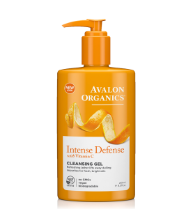 Avalon Organics Intense Defense with Vitamin C Cleansing Gel / Очищающий гель с витамином С, 250 мл