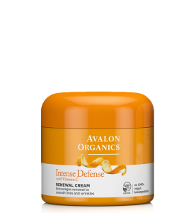 Avalon Organics Intense Defense with Vitamin C Renewal Cream / Обновляющий крем с витамином С, 57 г