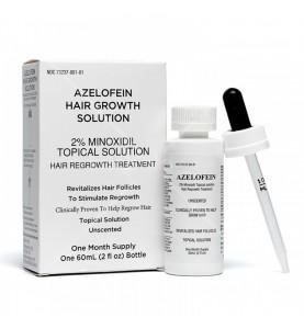 Azelofein (Азелофеин) Breakthrough Hair Loss Treatment /  Лосьон для стимуляции роста волос, 60 мл