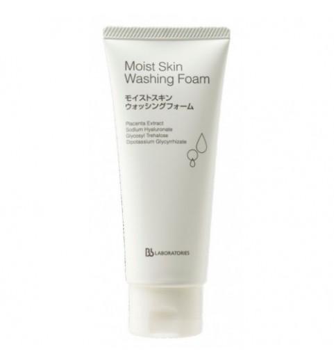 Bb Laboratories Moist Skin Washig Foam / Пенка очищающая плацентарная с увлажняющим эффектом, 100 г