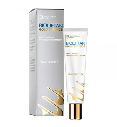Biogena Bioliftan Gold Essence / Антивозрастная золото-пептидная эссенция, 15 мл