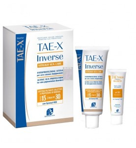 Biogena Tae-X Inverse Vitiligo Sun Care / Крем солнцезащитный для кожи с витилиго, 50+10(тестер) мл
