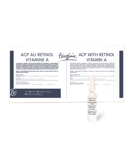 Biogenie (Биожени) A.C.P. Vitamine A / Ампулы с витамином А (PH 4,8+-0,5), 10 ампул по 2 мл
