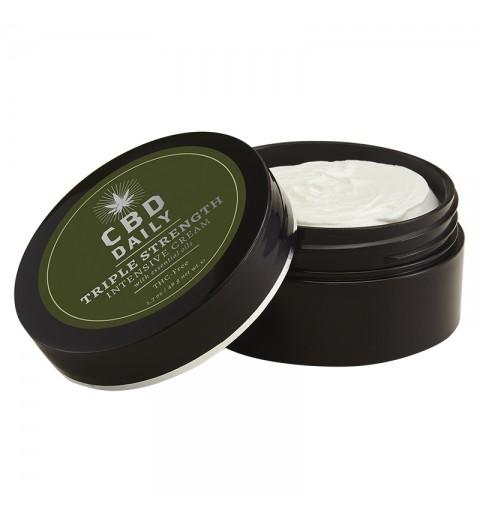 EU CBD Daily Intensive Cream Triple Strength/ Интенсивный крем с коноплей тройной концетрации, 48 г