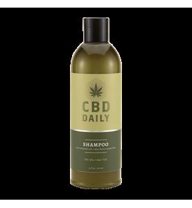 EU CBD Daily Shampoo / Лечебный шампунь с коноплей для волос и кожи головы, 473 мл