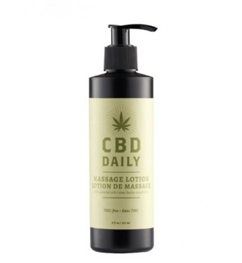 EU CBD Daily Massage Lotion / Массажный противовоспалительный лосьон, 237 мл