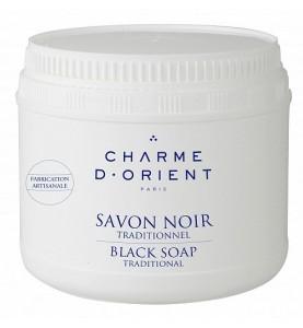 Charme D Orient (Шарм Ориент) Savon Noir Senteurs du Hammam / Черное мыло с эвкалиптом, 500 г