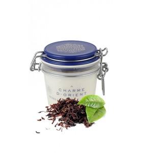 Charme D Orient (Шарм Ориент) Beurre Karite Argan Parfum The noir / Масло карите + аргана с ароматом черного чая, 200 г