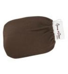 Charme D Orient (Шарм Ориент) Kessa Qualite Superieure / Кессa (рукавица для пилинга), жесткая, цвет, каштан, 1 шт