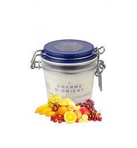 Charme D Orient (Шарм Ориент) Beurre Karite Argan Fruits / Масло карите + аргана с ароматом фруктов, 200 г
