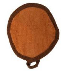 Charme D Orient (Шарм Ориент) Houpette / Круглая маленькая рукавичка для пилинга лица, 1 шт