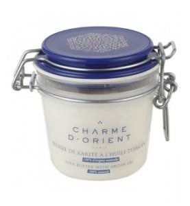 Charme D Orient (Шарм Ориент) Beurre Karite Argan Non Parfume / Базовое масло Карите, 200 г